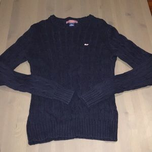 Vineyard Vines sz S navy blue sweater